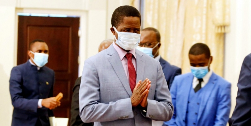 Lungu Calls For Stern Action Against Zambia Red Cross Society's Alleged Looters